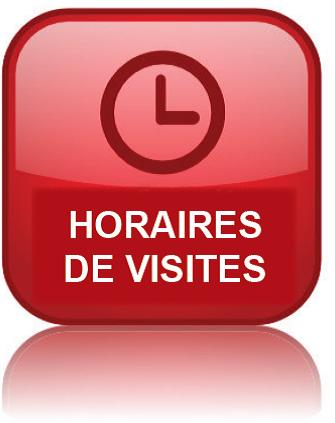Horaires de visites